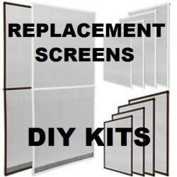 60 x 60 aluminum window and bug screen kit