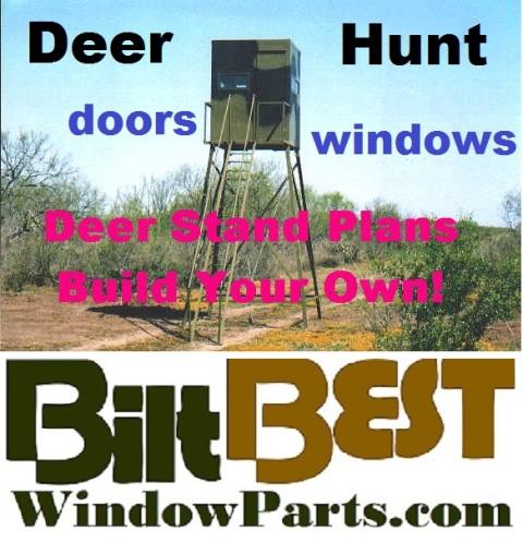 Best Kd Hunting Stand Deerblind Door Kits Aluminum Frame