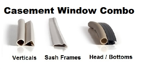 Oem Biltbest Casement Awning Windows Weather Strip Combo