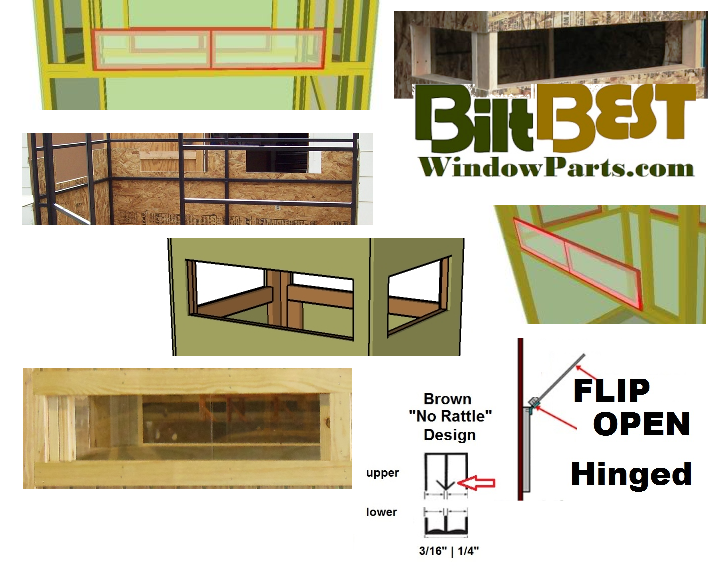 Deer Stand Window Designs : Top brands google search pdf plans ideas deer stand