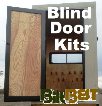 Deer Blind Hunting Stand Locking Door Kd Kit All Sizes