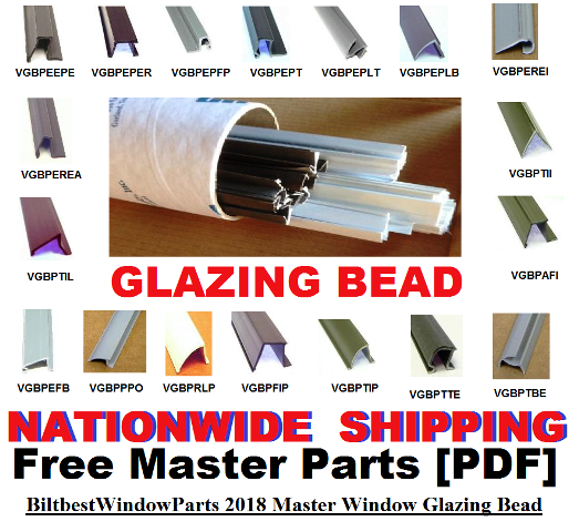 Glazing Bead Parts Home Alaska Window And Door Glazing