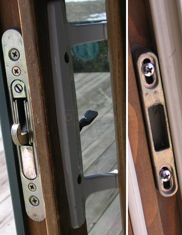 Marvin Sliding Patio Door Hardware Mortise Lock