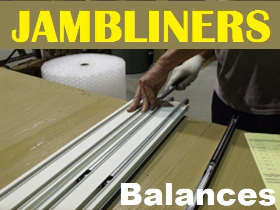 Marvin Window Jamb Liners Balance Spring Carriers Tracks