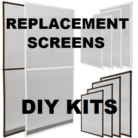 diy screen frame kit 48 x 48 overall size cut to size biltbest window parts - Window Frame Kit