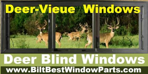 D I Y How To Build Deer Blind Windows And Doors Plans