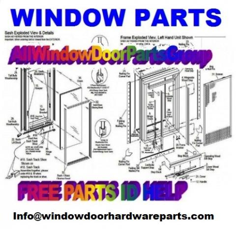 Find Free Parts ID Help for Window and Door Parts Help Online