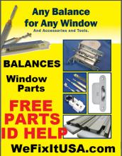 Window Balance Parts Free ID Help - Washington, Arlington, Alexandria, DC-VA-MD-WV, Baltimore, MD, Columbia, Towson, MD, New York, Newark, Jersey City, NY-NJ-PA, New York-Newark, NJ-CT-PA; Hartford-West Hartford-East Hartford, CT