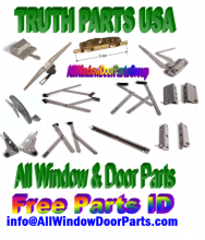 from Maine to Alaska .. WeFixItUSA and the AllWindowDoorparts Group , NATIONWIDE PARTS - TRUTH and EntryGard window & door hardware replacements.