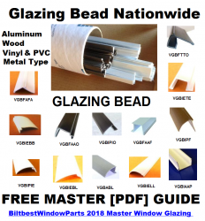 Western States Window Glazing Bead Snap In Bead Parts