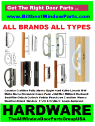 Biltbest Window And Door Replacement Parts, Marvin And Integrity  Replacement And Repair Service Parts, Patio Door Hardware By Truth And  EntryGard, Handles, ...