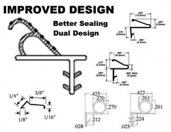 Improved Window Sash Weather Seals For Casement And Awning