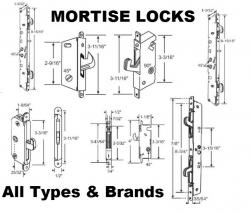 Sliding Patio Door Lock Sets Mortise Locks Replacement