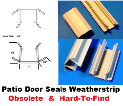 Patio Door Side Jamb Head Sill Door Seals Obsolete Weather