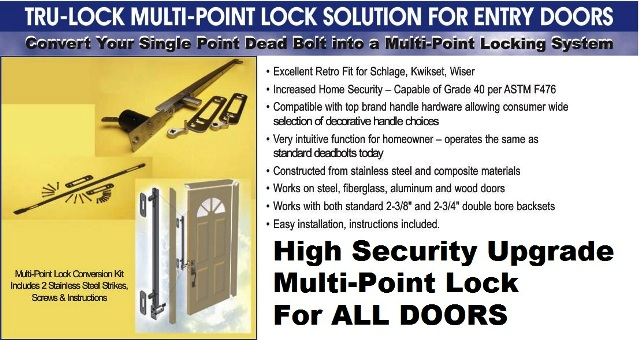 Retro Fit Your Entry Door Dead Bolt To A Secure Multi
